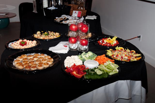 Food provided by Crackers Catering