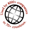 Trusted by 3500+ companies in 60+ countries